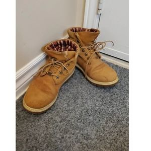 Timberland folded over boots